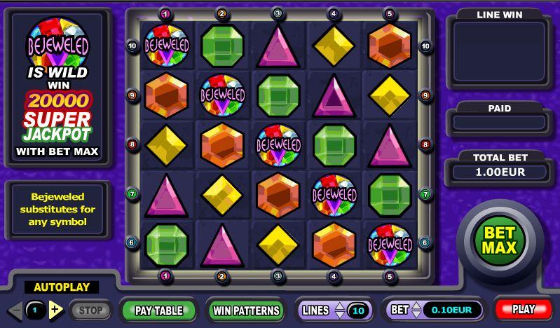Bejeweled bij Bea Bingo